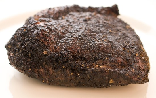 Grilled Top Sirloin with Coffee Rub