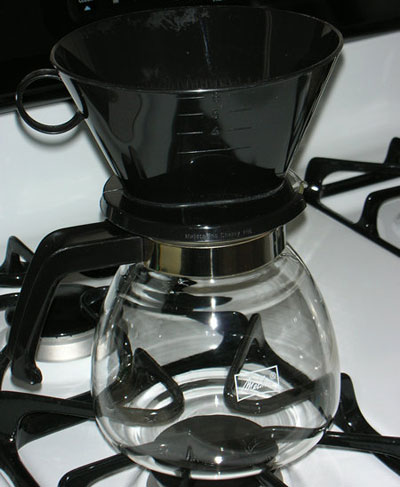 melitta manual 6 cup coffee maker