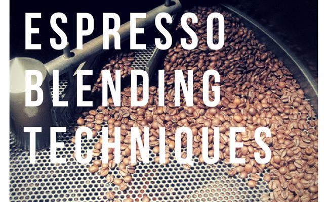 Espresso Blending Techniques