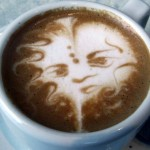 Latte Art Etching Photo Gallery