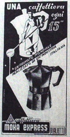 Bialetti Ad In Trade Fair Catalog