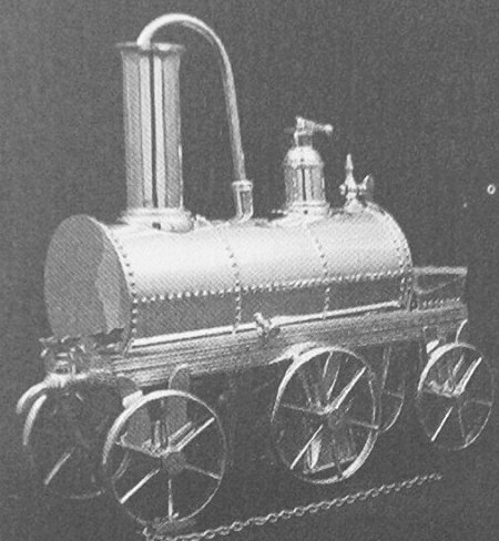 Locomotive Coffee Machine