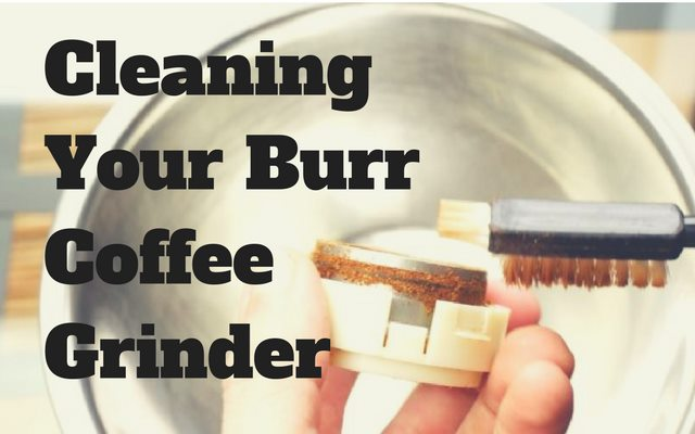 Cleaning Your Burr Grinder