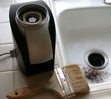 Burr Grinder Cleaning Tools