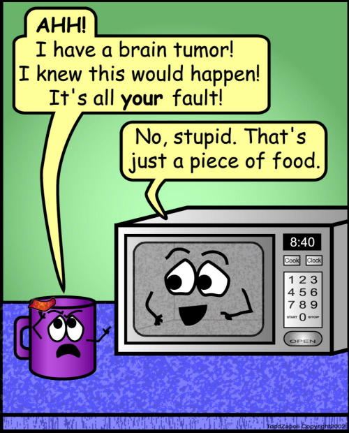 comic brain tumor