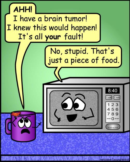 comic brain tumor