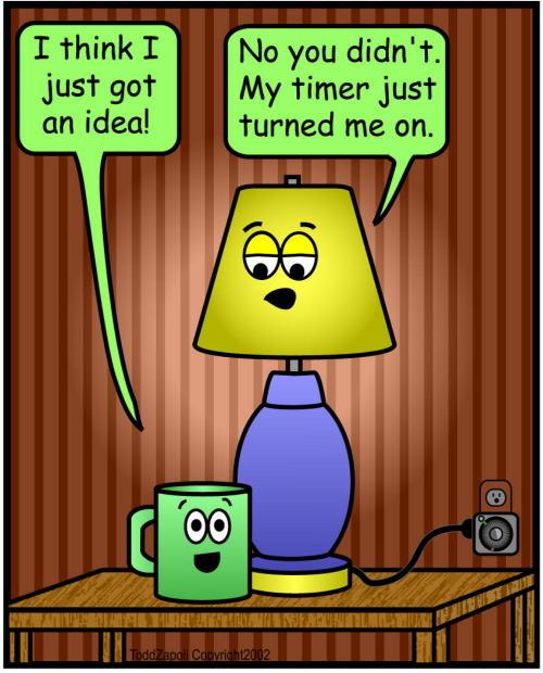 comic idea timer
