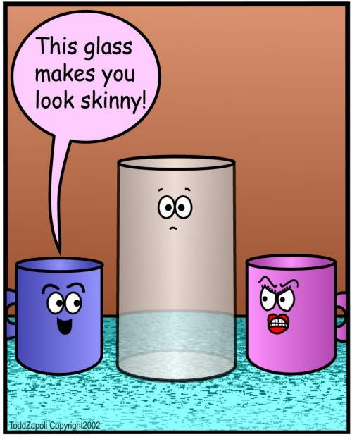 comic look skinny