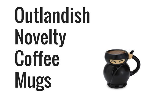 Outlandish Novelty Coffee Mugs