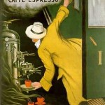 Yellow Coat: Two Coffee Paintings Tell a Short Story