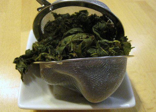 Tea Trapped in Filter