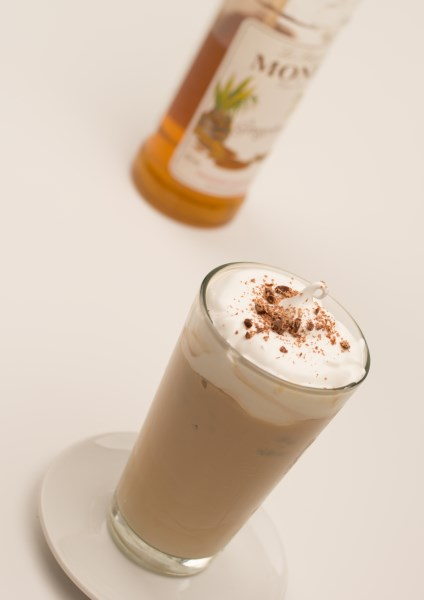 Monin cinnamon coffee syrup