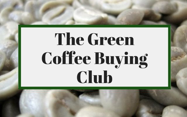 Meeting Up With The Green Coffee Buying Club