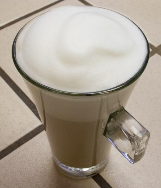 frothed beverage
