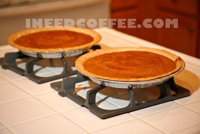 espresso pumpkin pie