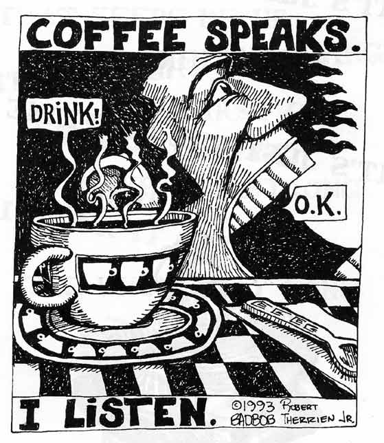 Screaming Man - Coffee Speaks
