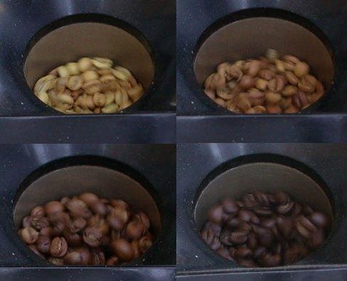 coffee roast color progression