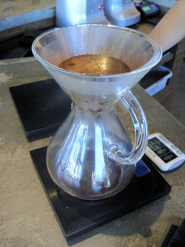 Coava Coffee - Chemex and the KONE