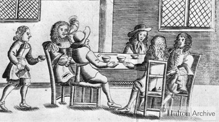 coffee in early England