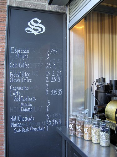 Sterling Coffee - Coffee Menu