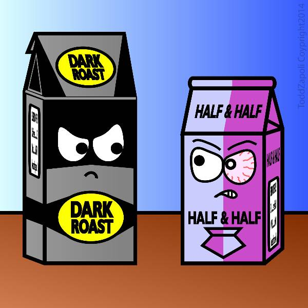 Dark Roast 2 Face