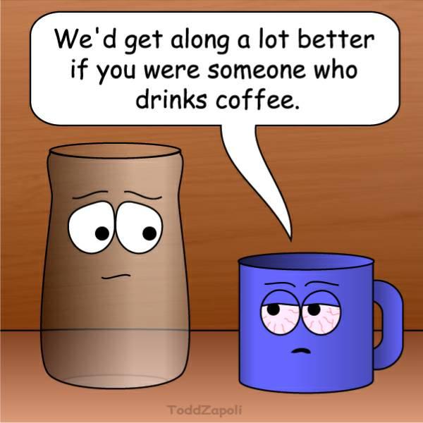 get along better