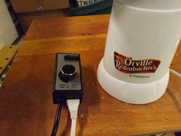 Hacking the Orville Redenbacher Hot Air Popper to Roast Coffee