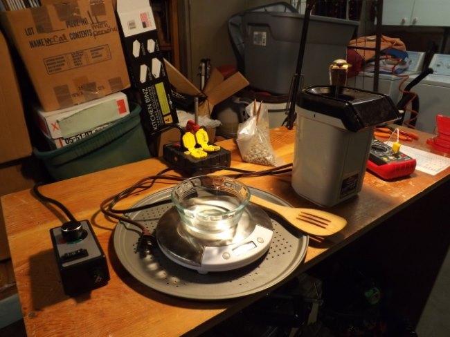 home coffee roasting setup