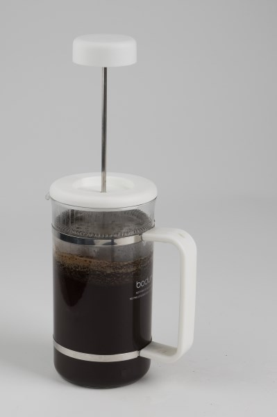 french press coffee steeping
