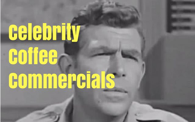 Celebrity Coffee Commercials