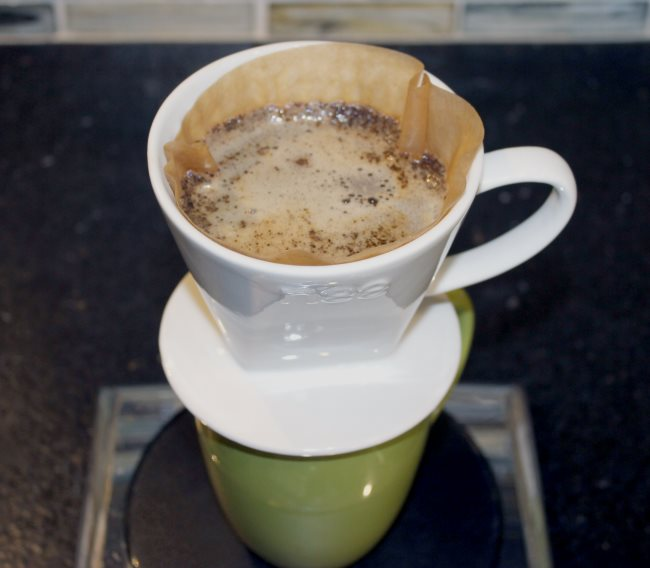 Pour Over Coffee Using the Nee Coffee Dripper