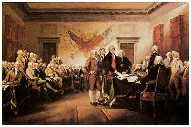 declaration-of-independence john trumbull