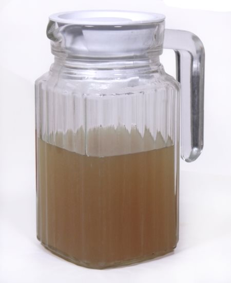 jar of green coffee bean concentrate