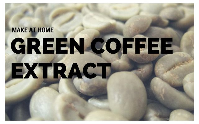 Making Green Coffee Bean Extract at Home