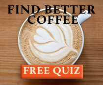 Find Better Coffee Quiz