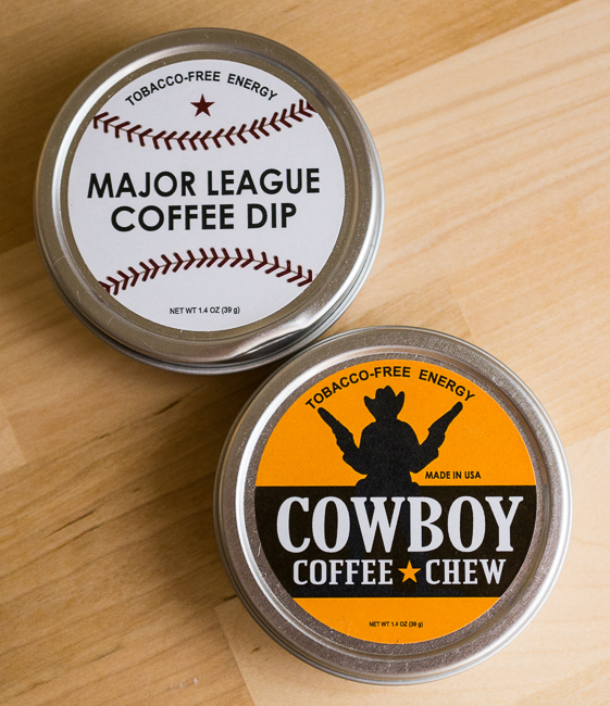 Cowboy Coffee Chew and Major League Coffee Dip Review