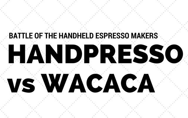 Battle of the handheld espresso makers