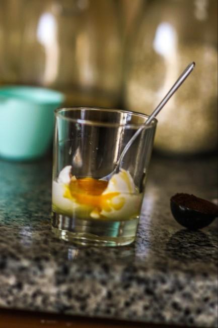 swedish egg coffee - crack egg