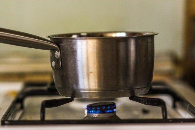 coffee boil water
