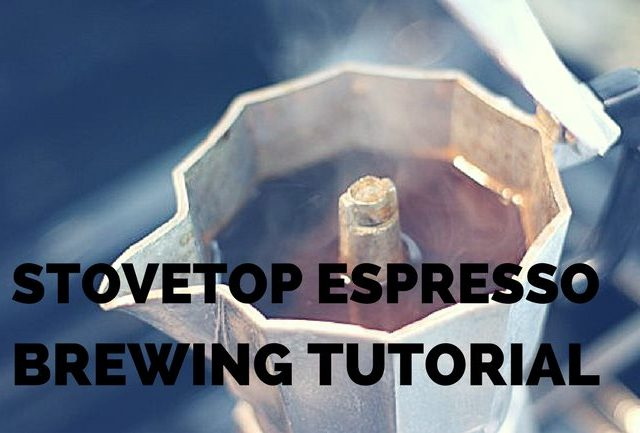 how to brew coffee with a stovetop espresso maker