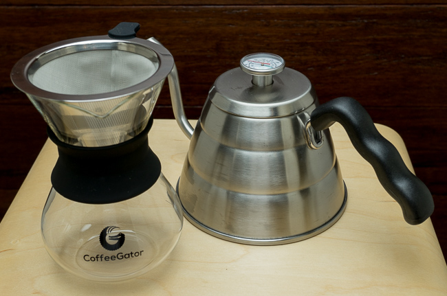 Coffee Gator Kettle and Carafe Review