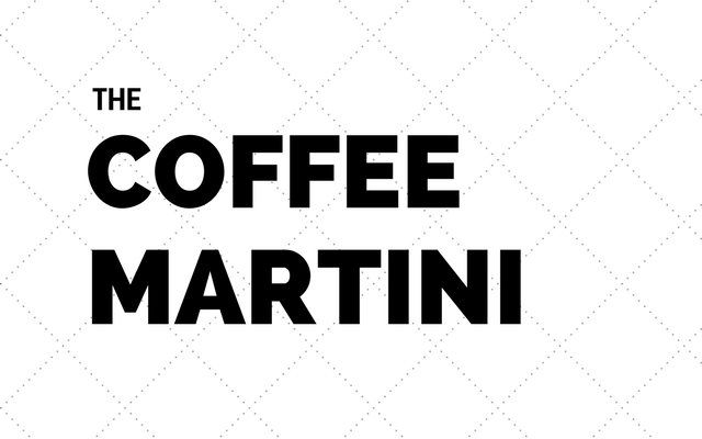The Coffee Martini
