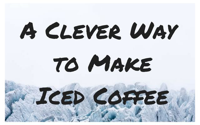 clever iced coffee
