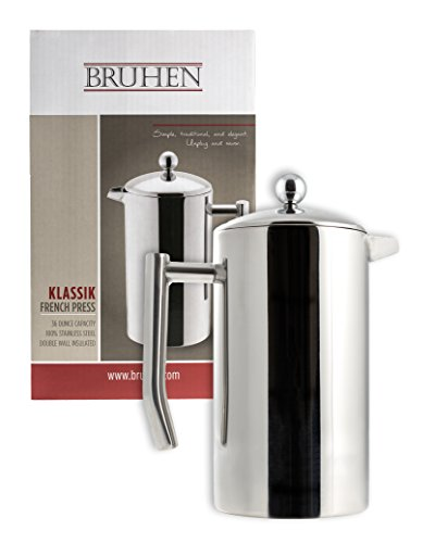 bruhen french press coffee maker