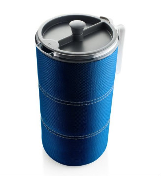 gsi java press blue - french press coffee