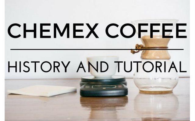 Chemex Coffee Brewing tutorial