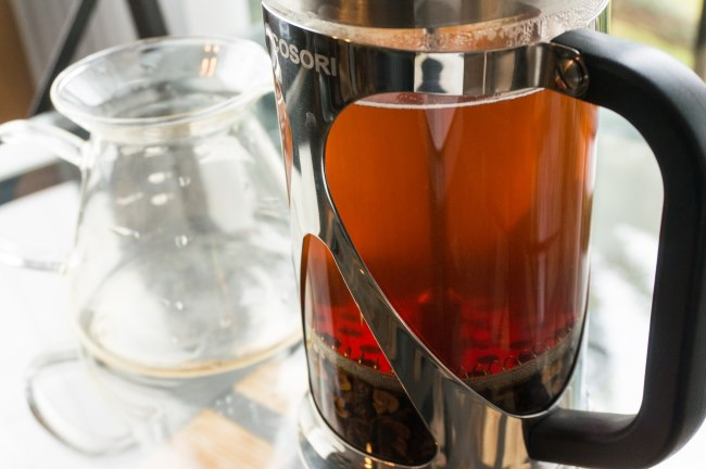 How to Make Cascara Tea in a French Press