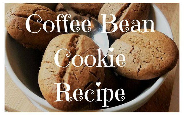 Coffee Bean Cookie Recipe