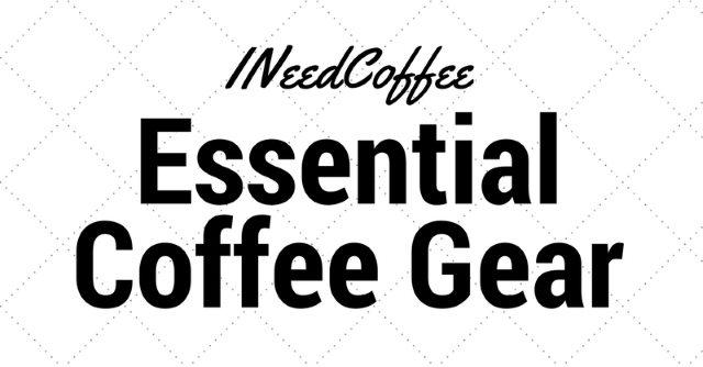 Equipo de café esencial