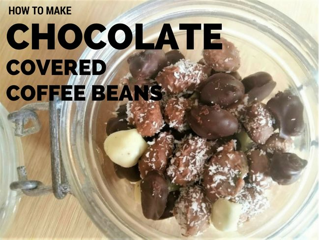 How to Make Chocolate Covered Coffee Beans